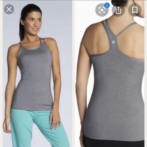 Fabletics l Grey Plus Size Omemee Workout Tank